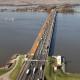 Werzaakheden Moerdijkbrug dec 2007-aug. 2008 Foto: Joop van Houdt / Rijkswaterstaat